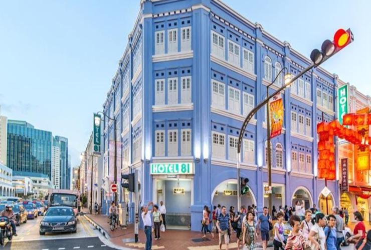 ที่พัก Singapore - Hotel 81 Chinatown 1